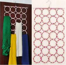 28 hole Ring Rope Slots Wrap Shawl Holder Hanger For Scarf Tie Retail Display