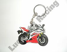 Yamaha YZF-R6 06-07 rubber key ring motor bike cycle gift keyring chain soft R6
