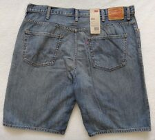 Levi's 569  Loose Shorts Blue Denim Loose Straight Size 44