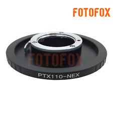 Pentax PTX110 Lens to Sony E mount adapter NEX-5T 7 6 3N A7 A7R A6000 VG10 A5100