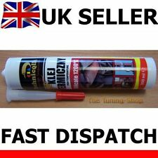 NEW HIGH TEMPERATURE 1200'C ADHESIVE GLUE SEALANT EXHAUST FIREPLACE OVENS 300ml
