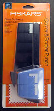 Fiskars LACE AND LATTICE Border Corner Scrapbooking Paper Punch NIP