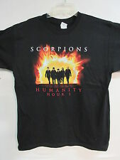 NEW - SCORPIONS HUMANITY HOUR BAND / CONCERT / MUSIC T-SHIRT  LARGE