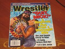 Mankind Mick Folley Cactus Jack Autographed Wrestling Cover Page