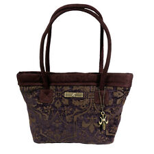 Isabella's Journey Cambridge Fleur de Lis Petite Carpet Bag