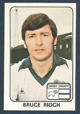 PANINI FOOTBALL 79 #135-DERBY COUNTY-EVERTON-ASTON VILLA-LUTON TOWN-BRUCE RIOCH