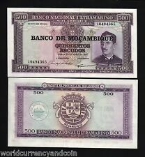 MOZAMBIQUE PORTUGAL 500 ESCUDOS P118 1976 *BUNDLE* SHIP UNC CURRENCY 10,000 PCS