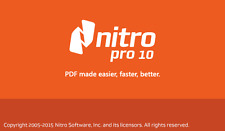 Nitro Pro 10 - PDF Viewer, Creator, Editor, Converter (download )