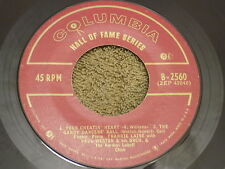 """FRANKIE LAINE w/ PAUL WESTON ORCH Rose Rose I Love You 7"""" ep GRANADA, YOUR CHEAT"""