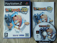 Worms 3D ps2 game! Complete! LOOK at my other games!