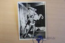 org. Foto erotische Akt mit Pferd Aufführung Darstellung Variete Kabarett Nude