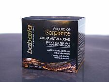 Babaria Snake Venom SYN-AKE Anti Wrinkle Cream 50ml. Cruelty Free Beauty!