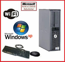 Dell OPTIPLEX Desktop PC Computer Pentium 4 3.2Ghz 4GB RAM 1TB Windows XP WiFi