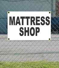 2x3 MATTRESS SHOP Black & White Banner Sign NEW Discount Size & Price FREE SHIP