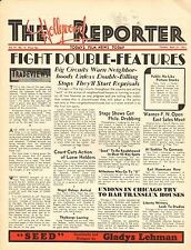 APRIL 21 1931 THE HOLLYWOOD REPORTER movie magazine - FIGHT DOUBLE-FEATURES