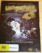 Andrews Lloyd Webber's Love Never Dies DVD - New & Sealed