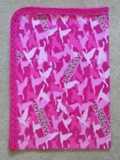 """TODDLER/TWIN BLANKET - PINK CAMO DUCK DYNASTY  35""""x52"""""""