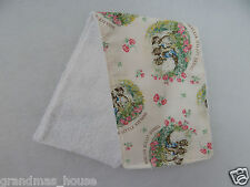 Beatrix Potter Three Little Kittens Burp Cloth - 1 Only Towelling Back