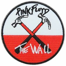 Pink Floyd The Wall Hammers Rock Iron on Patch Jacket Hat Cap Shirt Vest #M0010
