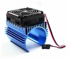 Hobbywing Ezrun C4 5V Cooling Fan & 44 x 65mm Motor Heat Sink System For 1/8 Car