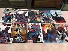 LOT OF TEN DIFFERENT THE NEW 52 BATMAN SUPERMAN COMIC BOOKS