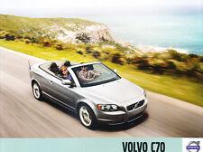 2010 Volvo C70 36-page Original Car Sales Brochure Catalog - Convertible