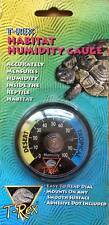T-Rex Reptile Habitat Dial Humidity Gauge- free postage- tortoise table