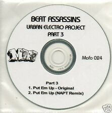 (731V) Beat Assassins, Urban Electro Project Pt 3 DJ CD