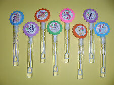 8 MY LITTLE PONY  party favors, bubble wands birthday