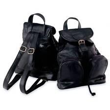 New Black Leather Backpack Purse Sling Shoulder Tote Bag Handbag Travel Tote