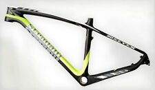 "STRADALLI  FULL CARBON FIBER MOUNTAIN BIKE BICYCLE FRAME 27"" 650B MTB LARGE 20''"