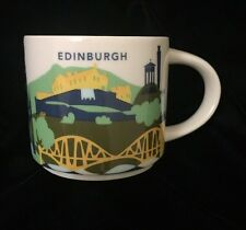 Starbucks Edinburgh YAH Mug Castle Scotland UK New Coffee Cup You Are Here