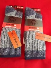2 Pair Wolverine 70% Merino Xtreme Wool Hiker Sock 9 -13 USA