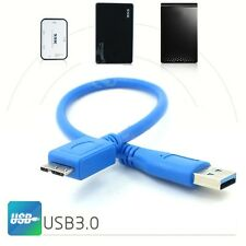 3.0 USB Cable Cord For SEAGATE Backup Plus Slim Portable External Hard Drive HDD