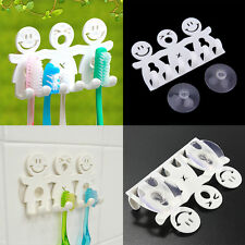 Hot Cartoon Bathroom Kitchen Toothbrush Towel Holder Wall Sucker Hook Cup Stand