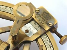 Nautical Solid Brass Antique Working Sextant Maritime Marine Astrolabe Sextant G