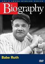 BIOGRAPHY: BABE RUTH (A&E DOCUMENTARY) NEW AND SEALED