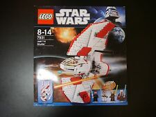 LEGO Star Wars 7931 JEDI T-6 SHUTTLE WITH MINIFIGS SEALED LEGO BAGS -BOXED