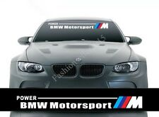 Reflective Front Windshield Decal Vinyl Car Stickers for BMW bmw Auto Accessorie