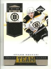 2011-12 Panini Limited Team Trade Marks Jersey #4 TYLER SEGUIN  Serial #69 of 99