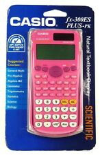 FX-300ES CASIO FX-300ESPLUS-PK Fraction & Scientific Calculator (Pink)