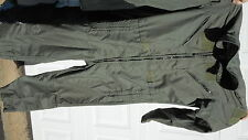 CWU 27/P Nomex Flight Suit Sage Green 42 LONG  MILLITARY SURPLUS