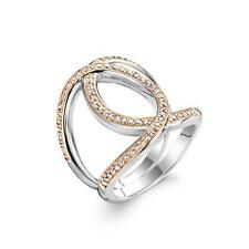 NEW Genuine Ti Sento Sterling Silver/Rose plated CZ set ring 1955ZR Size 56 £130