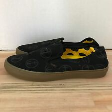 VANS CLASSIC SLIP ON SF CAPTAIN FIN BLACK GUM SIZE 6.5 NEW WITH BOX