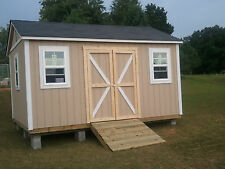 12'x16'x11' Gable Style w Attic Trusses  Summerfield Storage Building