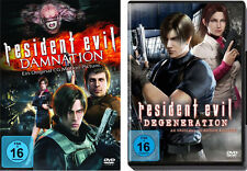 2 DVDs * RESIDENT EVIL : DEGENERATI​ON + DAMNATION IM SET # NEU OVP