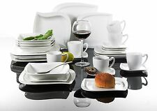 30pc Complete Dinner Set Porcelain Ceramic Plates Kitchen Dinning Service Sets