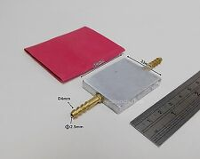 294K:1x Aluminum Alloy Water Cooling Plate w/Heat Shrink Tube for RC AquaCraft