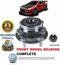 FOR MITSUBISHI LANCER EVOLUTION EVO X 10 2007-2010 FRONT WHEEL BEARING HUB KIT