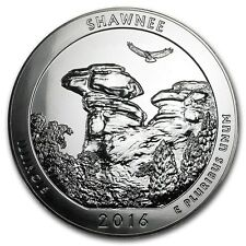 2016 5 oz Silver ATB Coin Shawnee National Forest, IL - SKU #104531